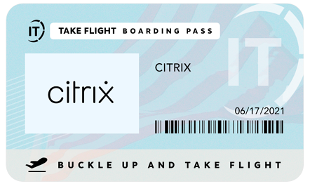 Citrix Passport for June 17 2021 with Lincoln IT