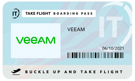 Veeam Passport for June 10 2021 with Lincoln IT