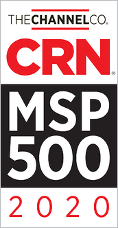 CRN- Badge for Top 500 MSP providers in 2020