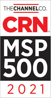 The Channel Co CRN - MSP 500 - 2021 - Badge