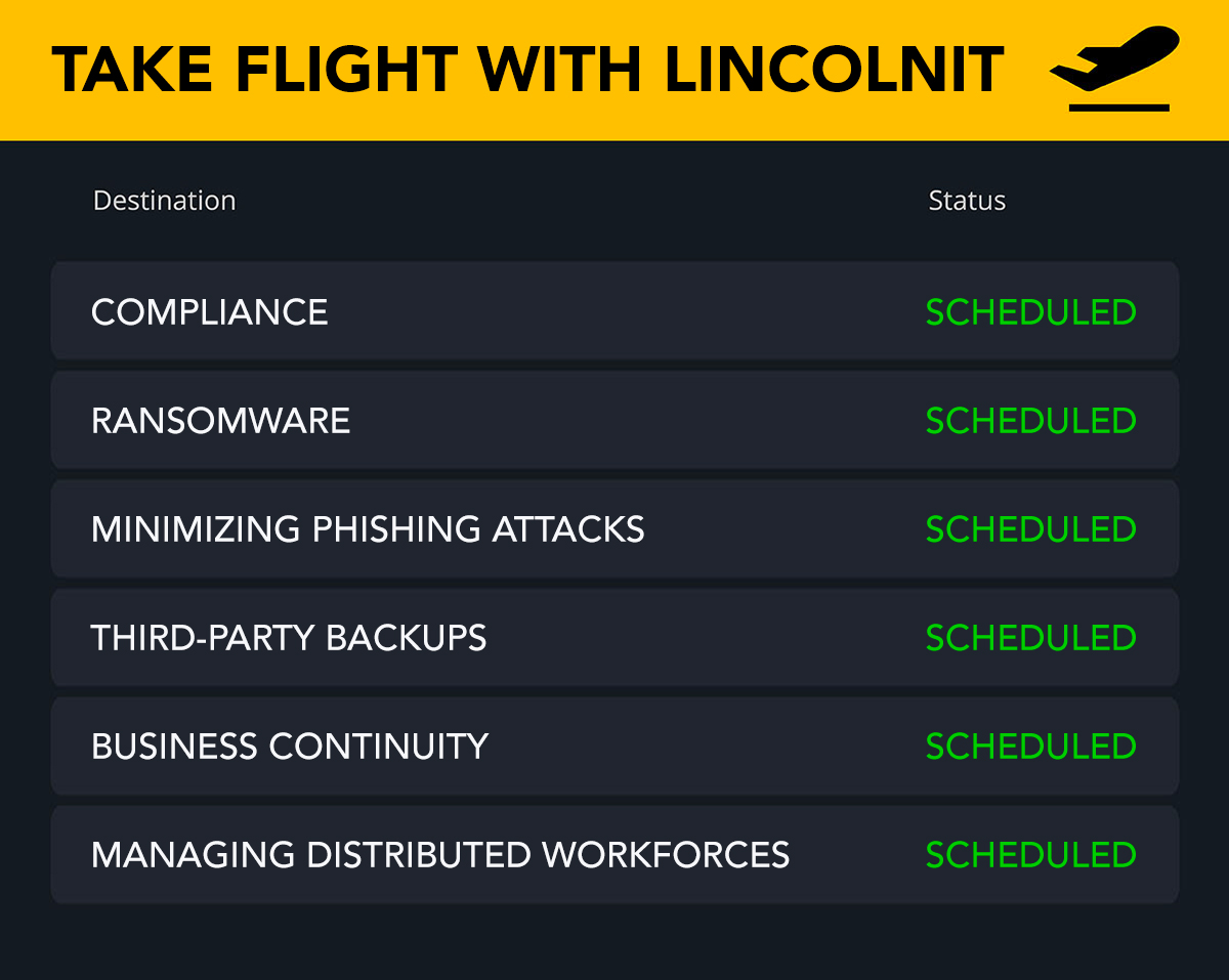Mock Airline Schedule with different IT Terms